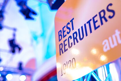 Silbernes Siegel bei BEST RECRUITERS